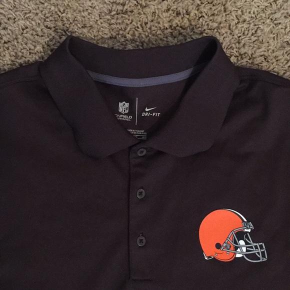 5ce735c8 Nike Shirts | Cleveland Browns Polo Shirt Size 3xl | Poshmark